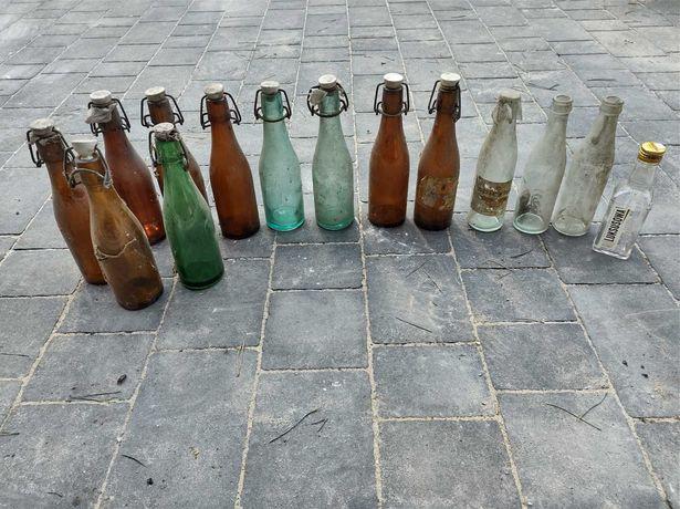 Stare butelki butelka po oranżadzie