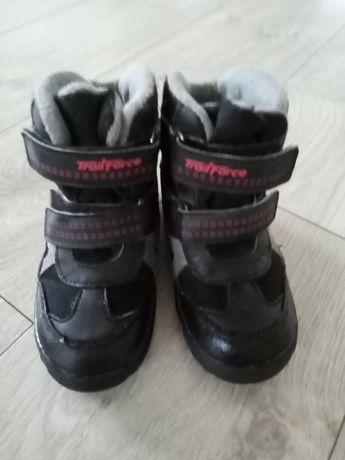 Buty chłopięce ocieplane
