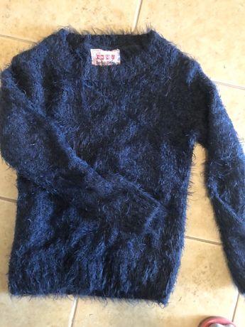 Sweter włochacz 128