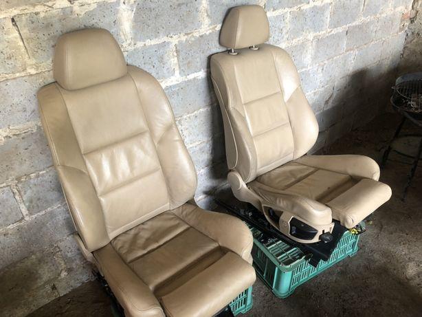 Fotele bmw e60