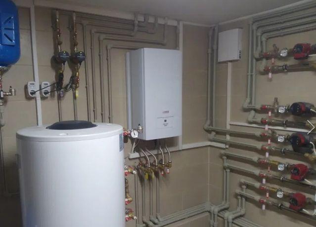 Услуги сантехника монтаж систем опалення і водопровода