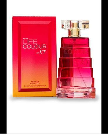 Perfumy Avon Life Colour, nowe