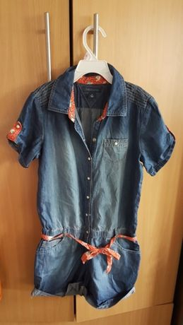 Kombinezon Jeans Tommy Hilfiger