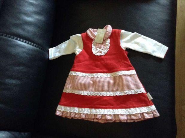 Vestido bebe lindo novo 6 meses