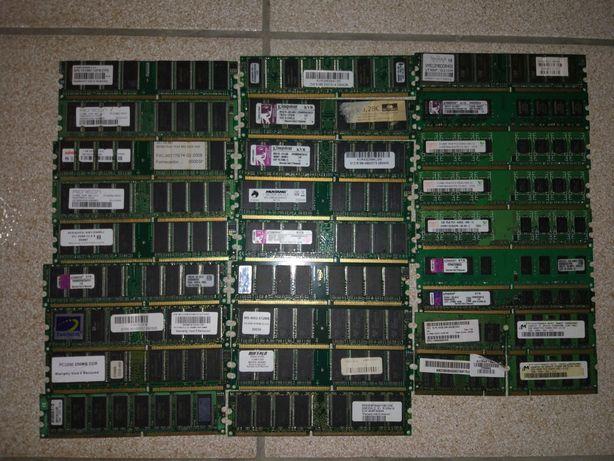 Memórias DDR 333 e 400