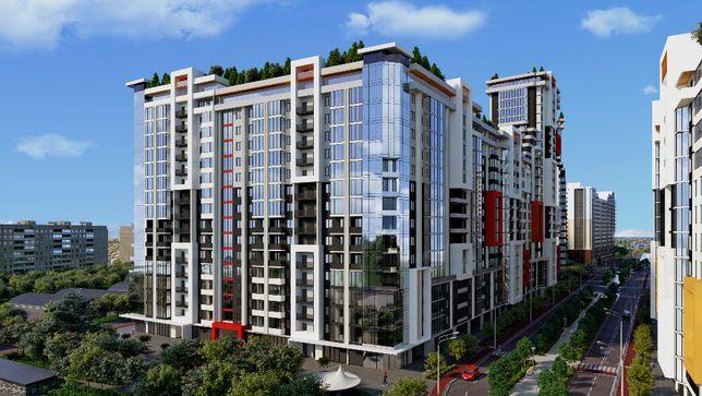 1 комнатная квартира 25.8 м² (655 $) рассрочка 5 лет