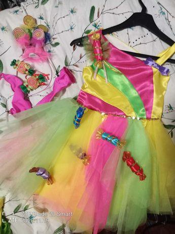 Сукня платье конфетка хлопушка костюм нарядное для девочки