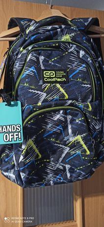 Plecak nowy coolpack dart 2 dużo kieszeni bardzo pojemny 27l