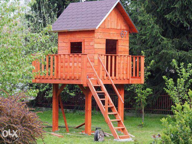 PROJEKT drewniany domek dla dzieci zrób to sam krok po kroku