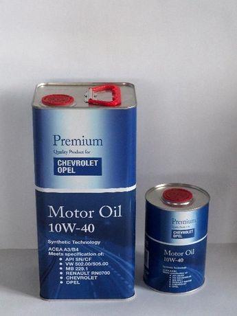 Półsyntetyczny olej Fanfaro dedykowany OPEL CHEVROLET 10w40 5L+1L