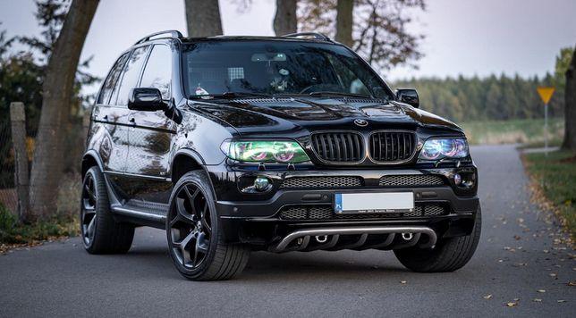 BMW X5 E53 SPORT PAKIET M-pakiet / BMW X5 E 53 sport pakiet M