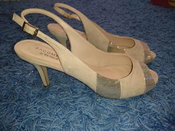 Buty sandały czółenka 41