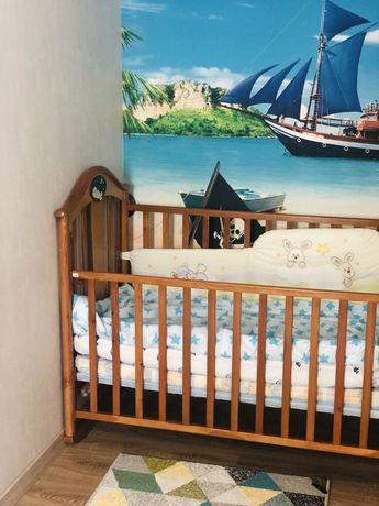 Кроватка деревянная Everflo