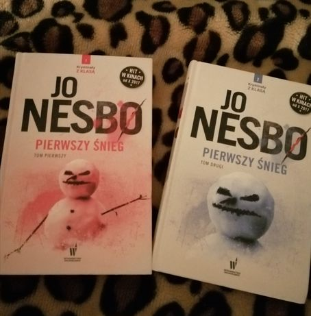 Jo Nesbo książki Pierwszy Śnieg Tom pierwszy i drugi
