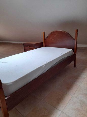 Mobília de quarto de solteiro completa