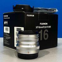 Fujifilm XF 16mm f/2.8 R WR (NOVA - 2 ANOS DE GARANTIA)