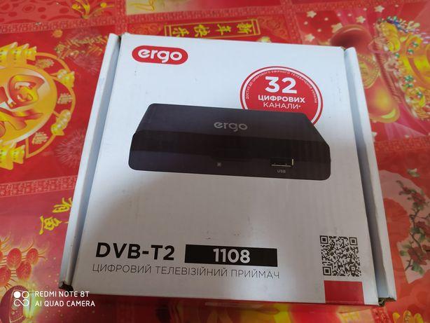 Продам новий Ergo DVB-T2 Цифровий телевізійний приймач