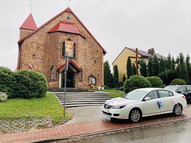 Białe auto do ślubu limuzyna 5m długości wolne terminy 2021