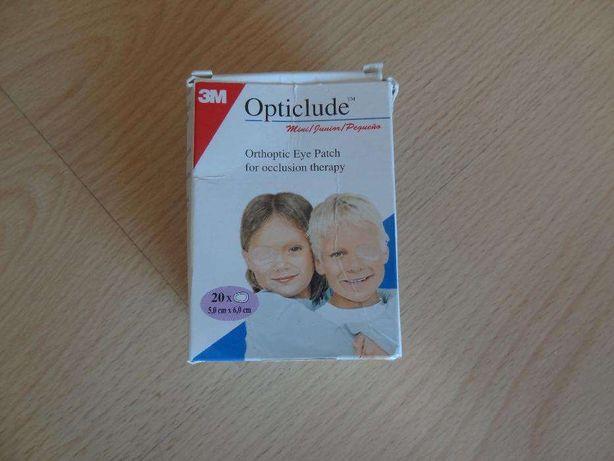 Pensos para os olhos marca Opticlude
