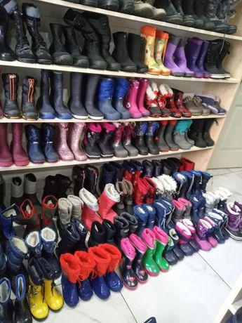 Гумові чоботи утеплені