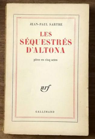 les séquestrés d`altona, jean-paul sartre,gallimard