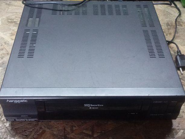 Magnetowid HANSEATIC / Philips VCR-246 + Pilot