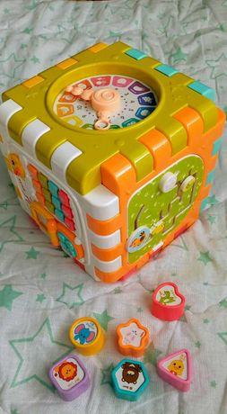 Музыкальный куб трансформер лемур в подарок