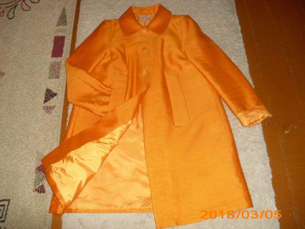Płaszczyk pomarańczowy R.38 H&M.
