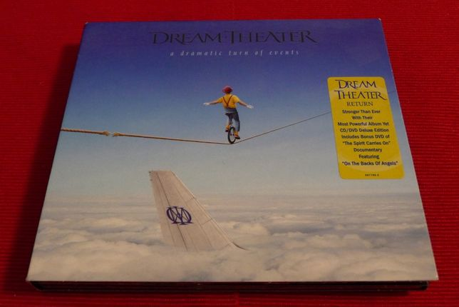 Dream Theater - A Dramatic Turn Of Events - CD/DVD