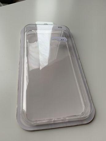 Etui silikonowe do iPhone XS case clear