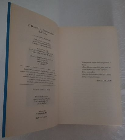 Livro - O Demónio e a Senhorita Prym - Paulo Coelho