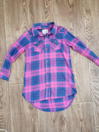 Удлененная платье - рубашка