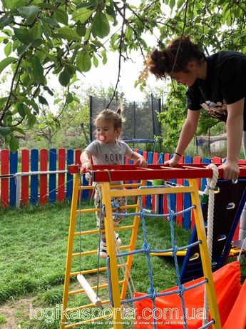 Игровая площадка, горка,  детский спортивный комплекс, домик, качели