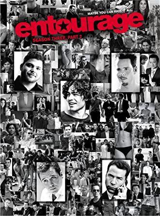 Entourage 3ª temporada, parte 2 - Edição sueca legendas PT, 2 DVD