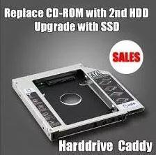Adaptador HDD para Cd-Rom (encaixe)