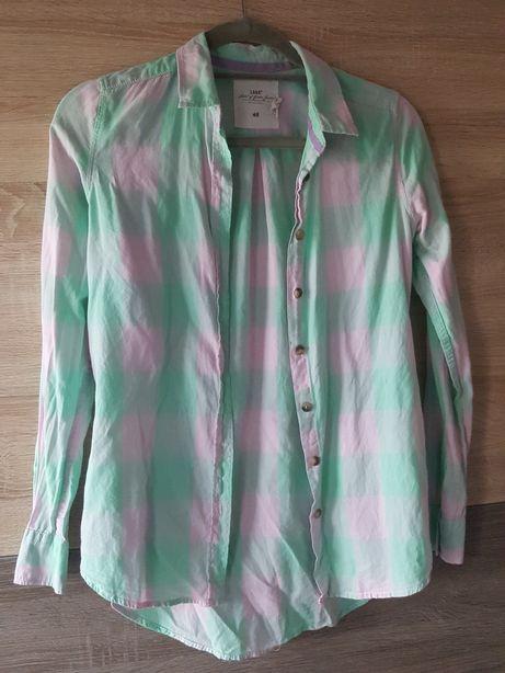 H&M koszula damska oversize w kratkę 32/34 XS S
