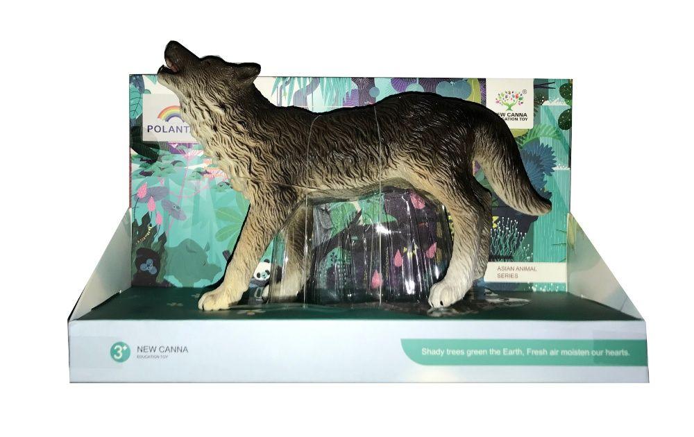 Gumowy Wilk Miękki w dotyku jak żywy !