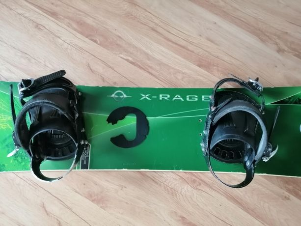 Deska snowboardowa - wiązania - 144 cm!!!