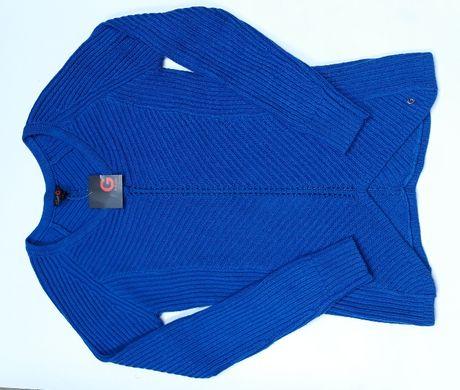 G by GUESS Oryginalny! Damski Sweterek Niebieski Kobaltowy Szafirowy