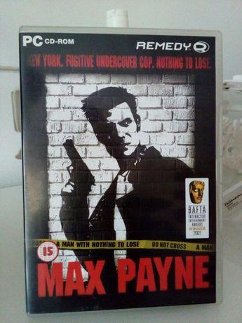 Gra Pc Max Payne dla kolekcjonera oryginał