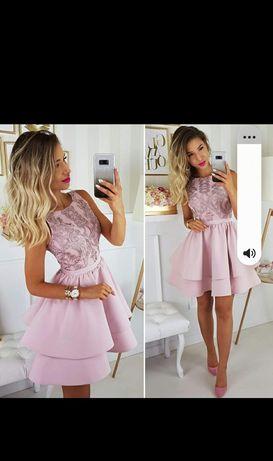 Sukienka Illuminate i żakiet H&M