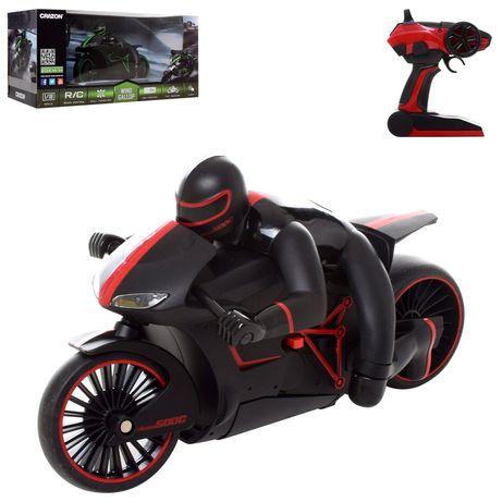 Мотоцикл Crazon 17MT01A на радиоуправлении свет 2 цвета 40-19-7,5см