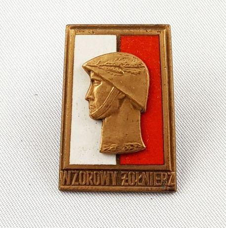 ODZNAKA Wzorowy żołnierz wzór 1973 brązowa