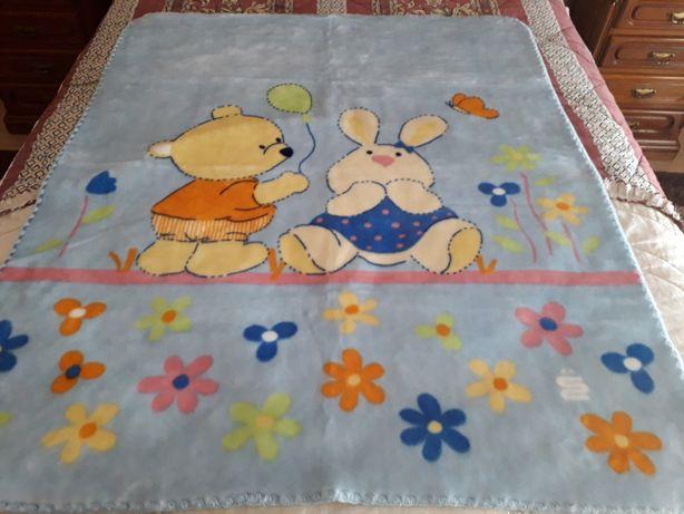 Cobertor cama bebé novo