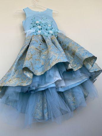 Королевское платье для девочки 146-152-158