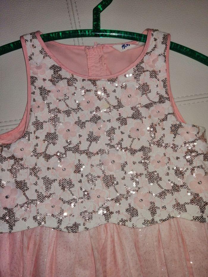 Sukienka tiul H&m rozm 134 z cekinami Gryfino - image 1