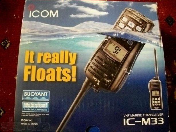новые VHF IC-М35 радиостанции последняя модель