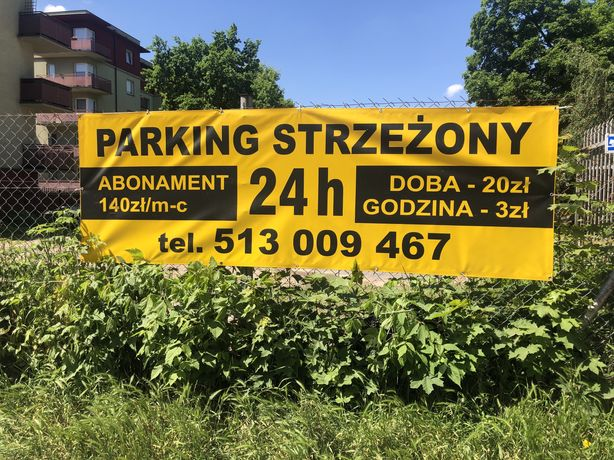 Parking Strzeżony. Całą Dobę 24h/7 .Łódź-Polesie, MONITORING)Zapraszam