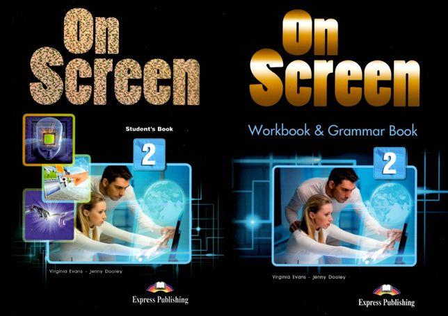 On Screen 2 комплект: Student's Book + Workbook + CD