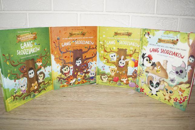 książki z Biedronki Gang Słodziaków